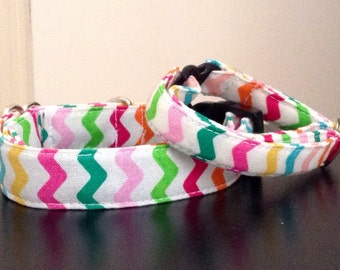 Bright Easter Stripes - Eco Dog Collar
