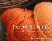 RESERVED for Sherry--  Fingerless gloves