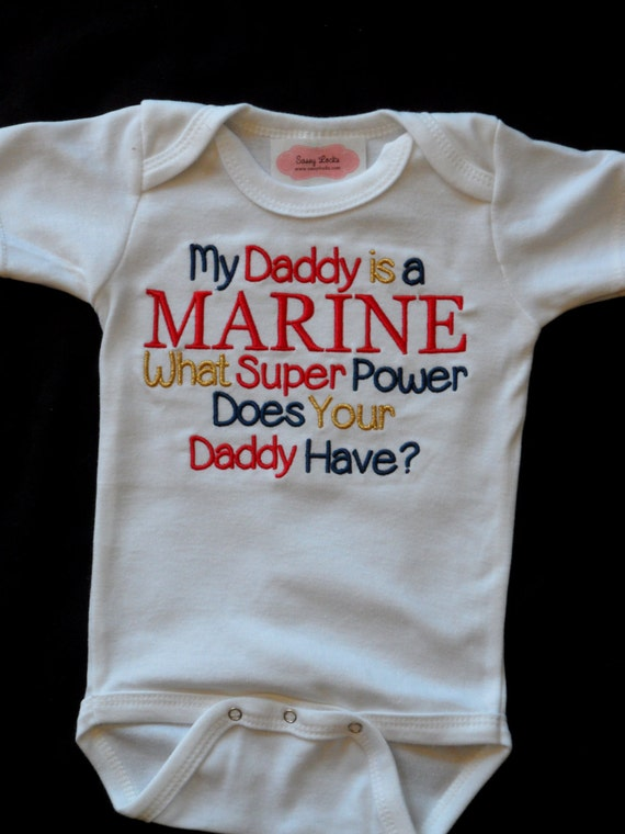 Marine Baby Boy Clothes Military Baby Clothes By Sassylocks