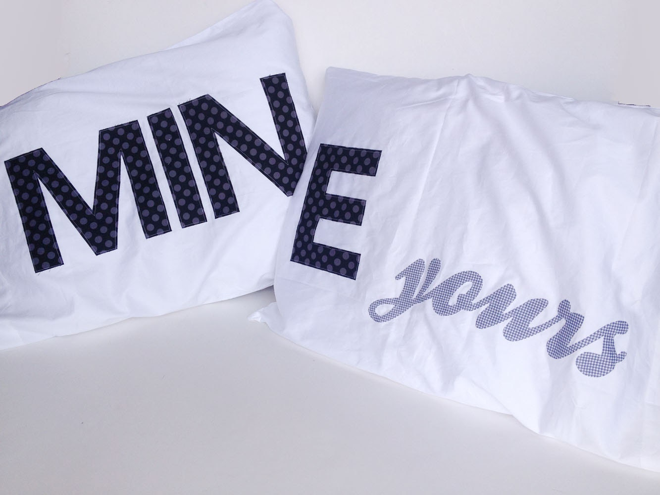 Mine Yours His And Her Pillow Cases Mine And Yours Wedding