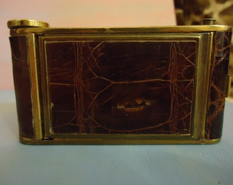 Vintage Girey Compact and Cigarette Case