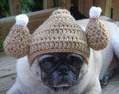 GOBBLE, GOBBLE,  Turkey Hat / Dog Hat /  Made To Order