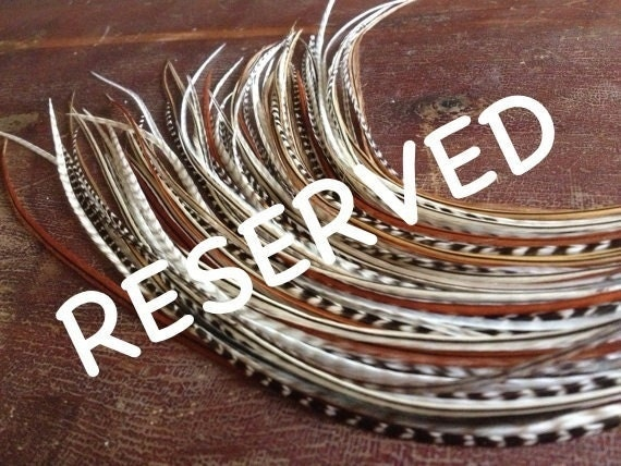 Reserved Single Feather Earrings For Tanya