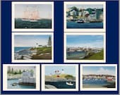 Maine Seascapes notecard collection from artists' original oil paintings