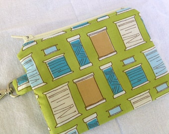 For the Seamstress Small Zippered Pouch