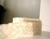 cream french lingerie lace
