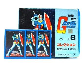 3 Mobile Suit Gundam 6 Sticker Packs Japanese Imports