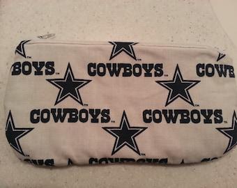 Dallas Cowbows fabric wallet