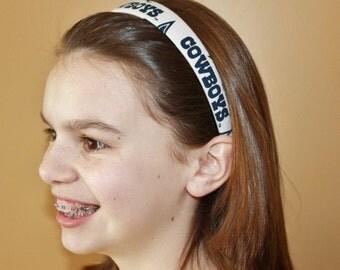 Dallas Cowboys Headband/Hair Accessory