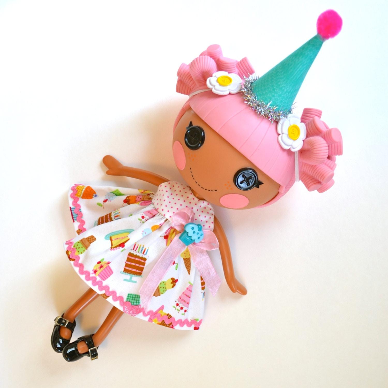 Lalaloopsy Birthday Girl Cupcake Dress For Lala Loopsy Doll