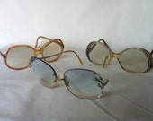SPECIAL Trio of Vintage Glasses