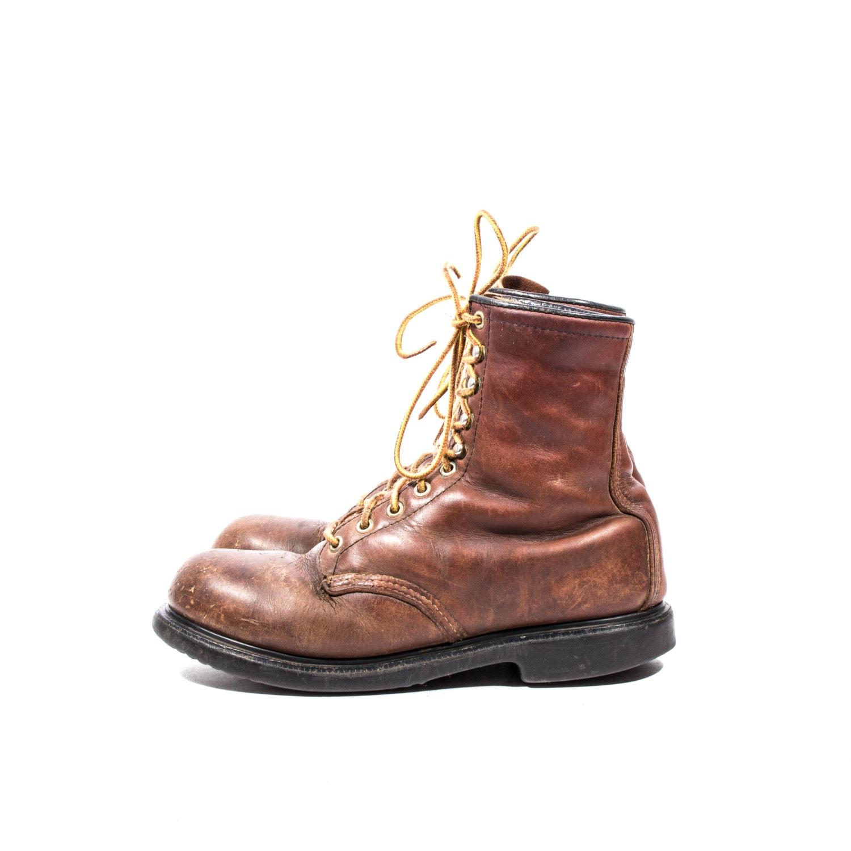 Fashionable steel toe work boots 98