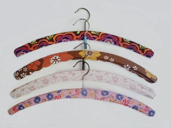 4 Vintage Hangers