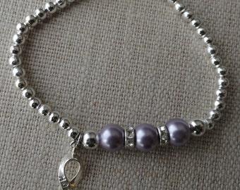 081 Testicular Cancer Awareness Bracelet