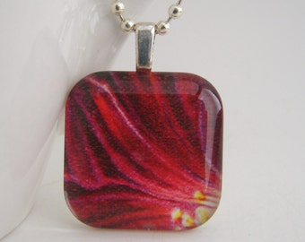 Berry Petals Pendant with Free Necklace