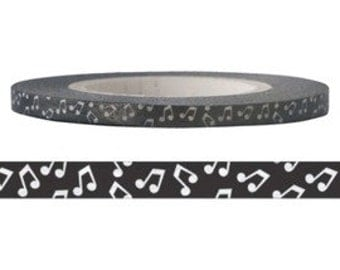 Musical Note Washi Tape (3mm X 15M)