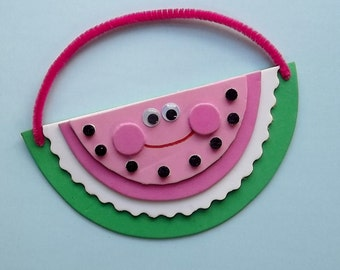 W is for WATERMELON  Doorhanger Craft Kit