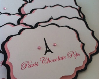 Paris Candy Labels