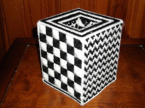Geometruc Tissue Box Cover