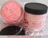 Crazy for Cherries Delicious Sugar Scrubs...You Choose Fragrance