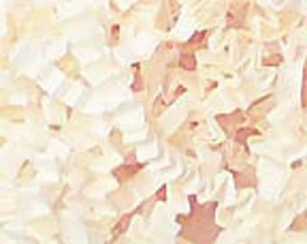 Vanilla Ivory Crinkle Paper Gift Packaging Material