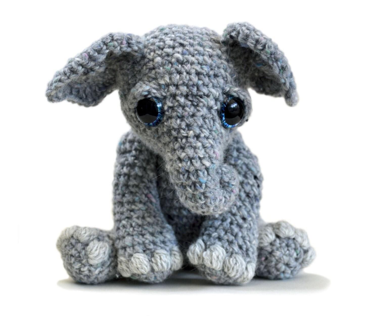 Amigurumi Crochet Difference : Elephant Amigurumi Crochet Pattern PDF Instant Download
