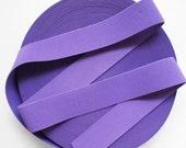 "2"" Medium Purple Stretch Elastic Band"