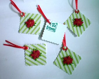 Holiday Gifts Tags - Set of Five