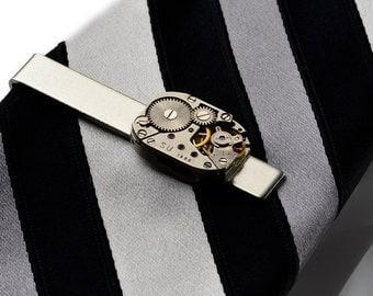 Steampunk Tie Clip