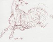 Original Horse Sketch 236...