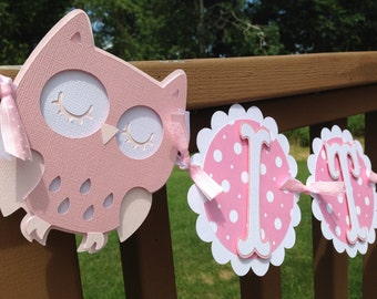 Baby Shower Its A Girl Owl Themed All pinks