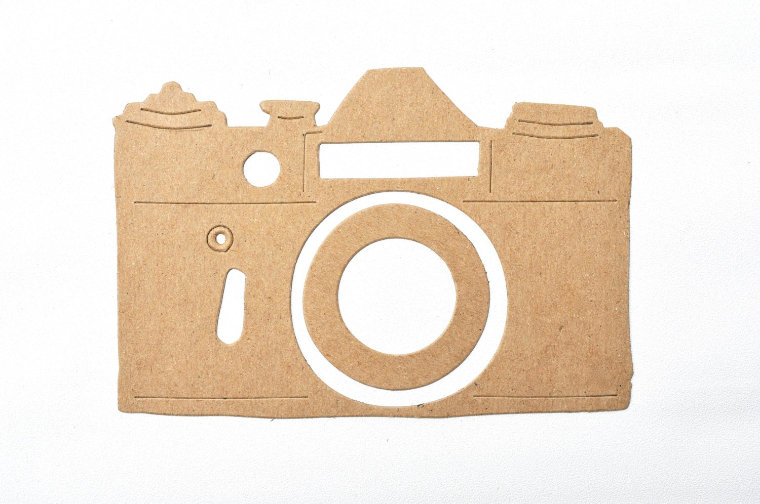 Chipboard Shapes Ideas ~ Camera chipboard die cut shapes click bare thick board