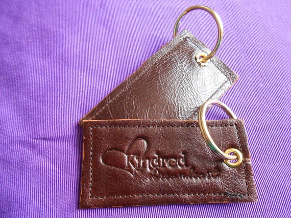 Signature Genuine Leather Handmade Key Chains