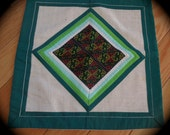Vintage Thai Hmong Embroidered Petit Point Pillow Cover