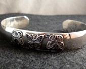 Butterfly Sterling Silver Cuff