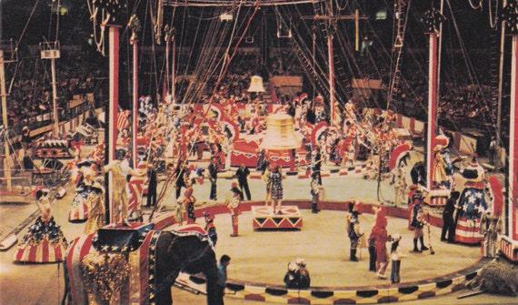 Ringling Bros And Barnum Bailey Circus By Postcardsofthepast
