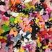50pc Mini Rhinestone Bows Polka Dot Bows Ribbons Glitter Bows Flat Back Resin Cabochons Nail Art Decoration