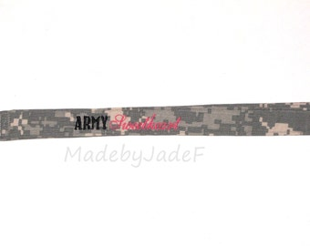 ACU Lanyard Army Sweetheart / Girlfriend / Wife / Cusotm Embroidered Lanyard / Any Color Available
