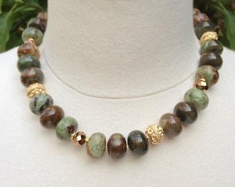 Magnificent Peruvian Opal Necklace