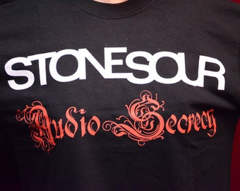 Stonesour Audio Secrecy Official Licenced t-shirt