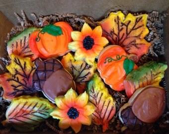 Medium Fall Cookie Gift Box