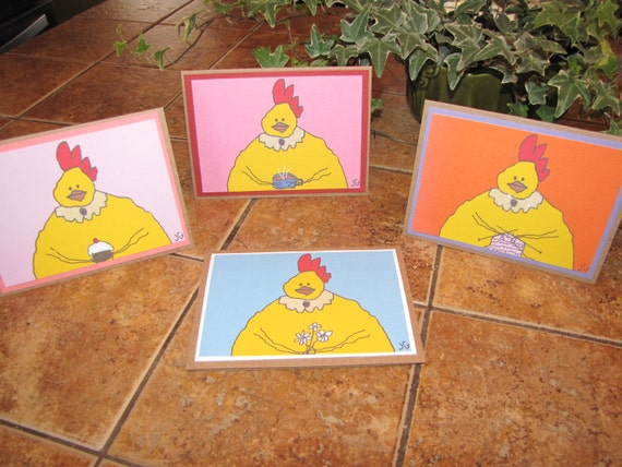 Mother Wilma Note Cards - Set of 4
