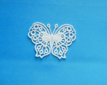 Lace Applique for Crafts or Crazy Quilt - Butterfly 008