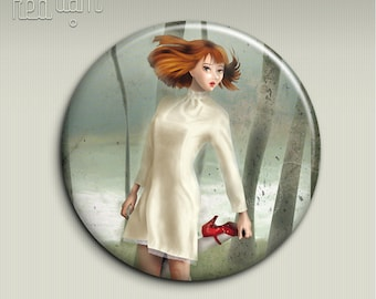 Pocket mirror - SCARPETTE ROSSE (The Red Shoes) - 58mm