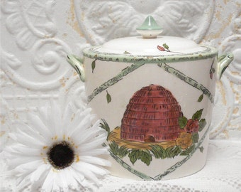 Beehive Cookie Biscuit Jar 1609