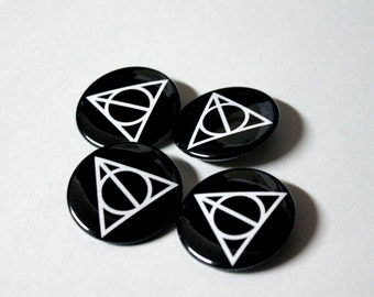 Wizarding World Special | Deathly Hallows Symbol | Buttons