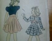 Vintage Advance Sewing Pattern 5279