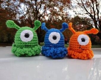 Super Cute Little One-Eyed Alien Slugs...Party Favor...Game Markers   (Each)