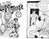 Guts Power black and white mincomic/zine