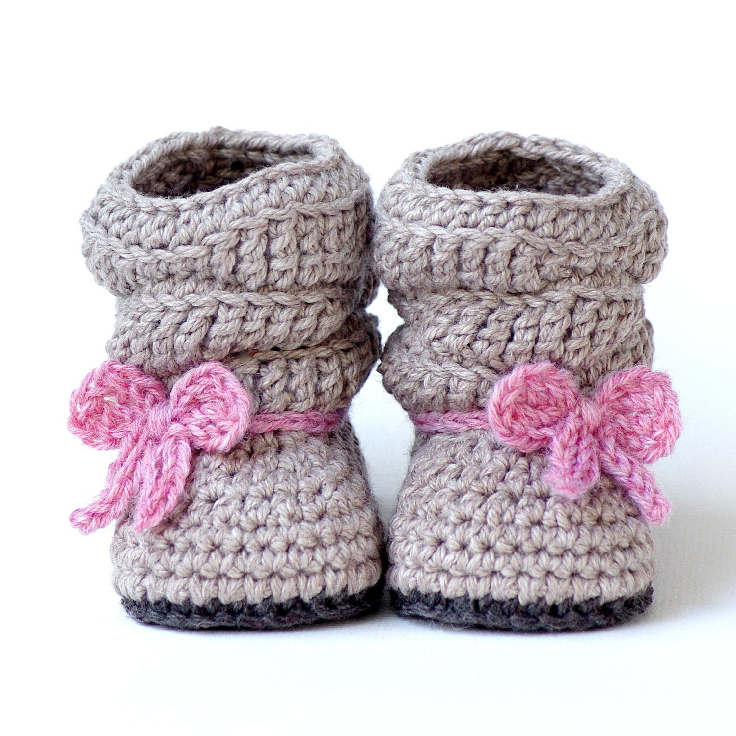 CROCHET PATTERN 217 Baby Slouch Boot Mia Boot Instant
